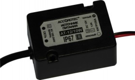 AT-12/10W Влагозащитные источники стабилизированного питания (IP67)
