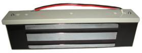 ML-295K  Электромагнитный замок, 12V DC, не более 0,47 A, усилие 300 кг,  222x52x34, новый дизайн, уголок в комплекте.