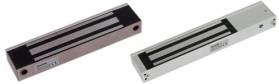 ML-350AL  Электромагнитный замок, 12V/24V DC, не более 0,5 A, усилие 350 кг,  285x49x27.5, офисный дизайн, планка в комплекте, световая индикация, реле (NO/NC)