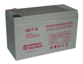 Аккумулятор GS 12-7,2