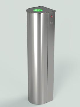 Картоприемник КП1-Нерж-220