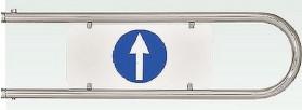Дуга на калитку К11(левая/правая) Для калиток Ростов-Дон К11Клв, К11Кпр, К11Млв,К11Мпр ? 25 L=800 мм