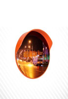 Зеркало сферическое с козырьком ЗС-1000