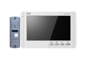 CTV-DP1704MD Комплект  видеодомофона  в одной коробке (вызывная панель CTV-D10NG и  монитор CTV-M1704MD)