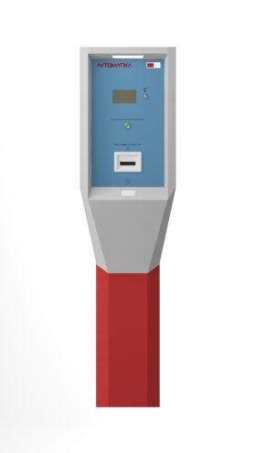 Card Park-ENT-Premium Въездная стойка класса премиум с высокоскоростным устройством выдачи проксимити карт