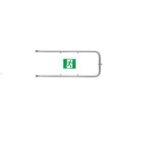 PERCo-BH02 1-17 Поворотная створка (в комплекте со стопорным механизмом) для механической поворотной секции с заполнением с пиктограммами, ширина прохода 1200мм.