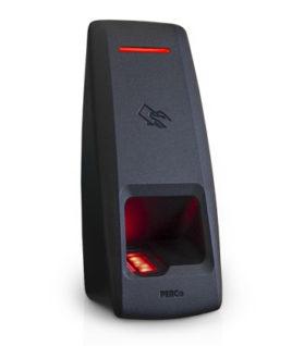 PERCo-CL15 Биометрический контроллер со встроенным сканером отпечатков пальцев и RFID-считывателем карт доступа, интерфейс связи - Ethernet
