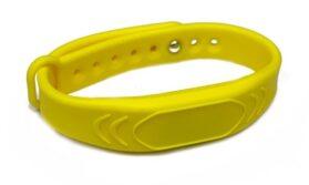 Силиконовый RFID браслет Mifare с застёжкой