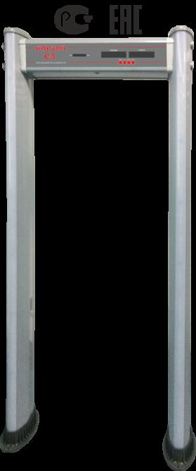 КОРДОН С3-Металлодетектор арочный 6-ти зонный