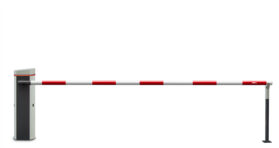 Шлагбаум PERCo-GS04 со стрелой круглого сечения 4,3 метра